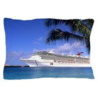 CafePress - Carnival Cruise Ship At Cozumel Port I ...