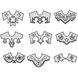 Amazon.com: Suitability 6360 Scrolls and Other Appliques