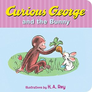 Curious George and the Bunny by H. A. Rey | Featured Book of the Day | wearewordnerds.com
