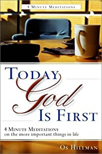 "Cover of ""Today God Is First"""
