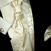 Formal Wedding Vest Set in Champagne | Wedding Store