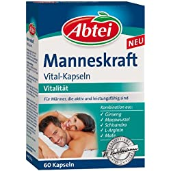 Abtei Manneskraft Vital Kapseln 60 Stück