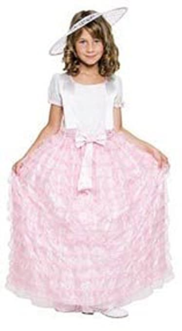 Child Southern Belle Pink Costume Size Small 4-6
