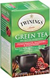 Twinings Tea, Green Tea, Pomegranate/Raspberry and Strawberry, 20 Count (Pack of 6)