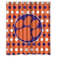 Clemson Curtain, Clemson Tigers Curtain, Clemson Curtains