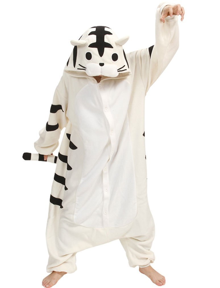 Black and White Kitty Kigurumi Kigu