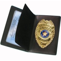 Concealed Carry Badge and Wallet $16.28