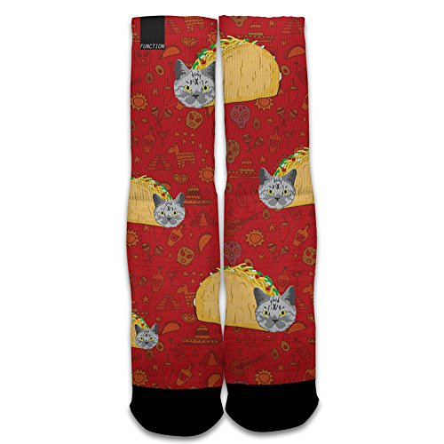 Function - Taco Cat Printed Sock