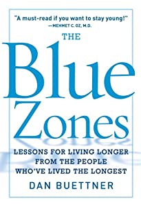 "Cover of ""The Blue Zones: Lessons for Liv..."