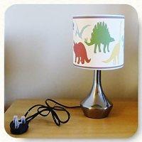 DINOSAUR / LITTLE DINO - BEDSIDE LAMP - BOYS BEDROOM LIGHT ...