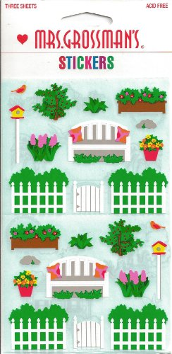 Garden Theme Scrapbook Stickers (19253)