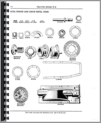 Mccormick Deering WK40 Tractor Parts Manual: Amazon.com