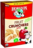 Horizon Organic Fruit Snacks, Apple Crunchers, 4 Count (Pack of 8)