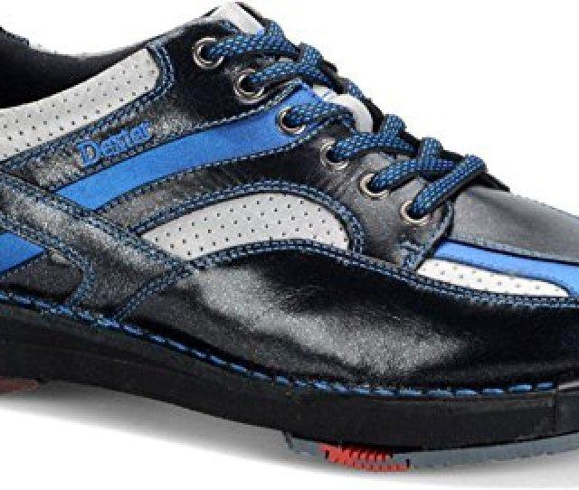 Dexter Men S Sst  Se Bowling Shoes Black Silver Blue   Wide