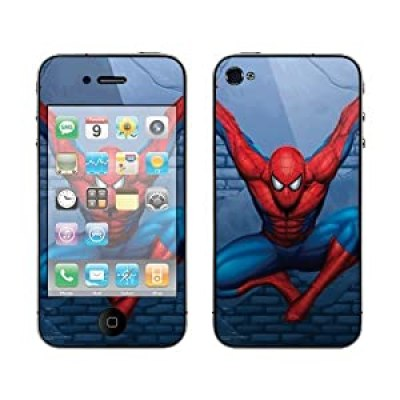 the Amazing Spiderman movie illustrated superhero iphone 4/4s case at amazon