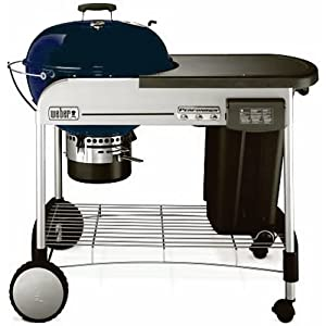Weber 1428001 Performer Charcoal Grill, Dark Blue