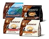 Senseo Day's Dawn 4-Flavor Coffee Variety Pack II, 16-to 18-Count Pods (Pack of 4)