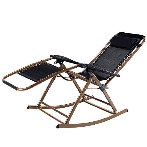 Infinity Zero Gravity Rocking Chair Outdoor Lounge Patio