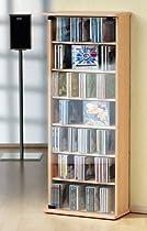 VCM CD / DVD - Möbel Vetro buche