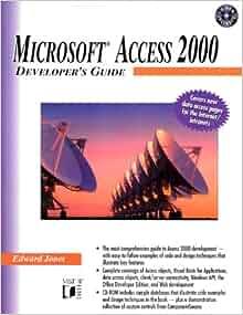 Microsoft Access 2000 Developers Guide Edward Jones Amazoncom Books