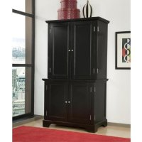 Antique Hutch: Home Style 5531-190 Bedford Compact Office ...