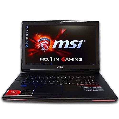 CUK MSI GT72 Dominator 17.3-inch Intel 6th Gen 32GB 2x512GB SSD + 2TB HDD NVIDIA GTX 970M 3GB Windows 10 Full HD Blu-Ray Gaming Laptop Computer