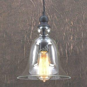 Big-Bell-Glass-Vintage-Retro-Ceiling-Pendant-Light-Hanging-Lamp