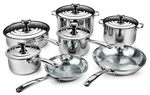 Le Creuset 14-piece Stainless Steel Cookware Set