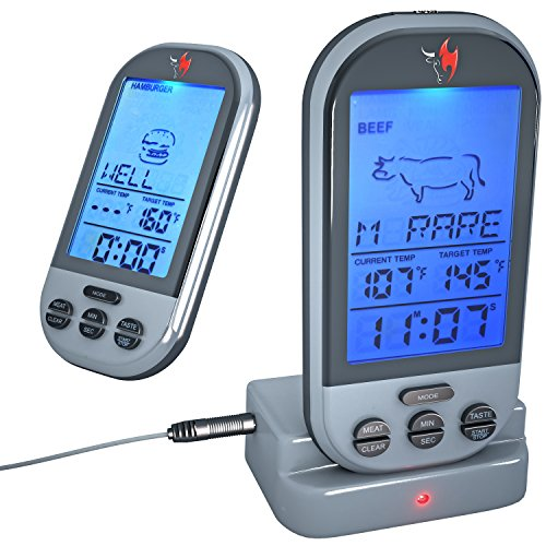 taylor kitchen timer moduler meat thermometer reviews | best rated digital ...