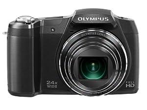 Olympus Stylus SZ-17 Digital Camera with 24x Optical Image Stabilized Zoom with 3-Inch LCD (Black)
