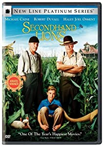 "Cover of ""Secondhand Lions (New Line Plat..."