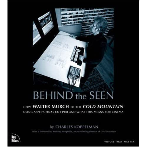 Books on film Editing - Walter Murch