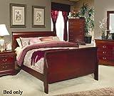 Strasburg Bed in Cherry Size: Full