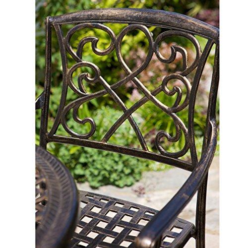 pit sectional sofa uk set online olx bangalore paris outdoor 3pc copper cast aluminum bistro | best ...