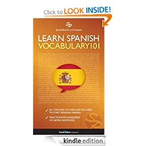 Learn Spanish Vocabulary 101