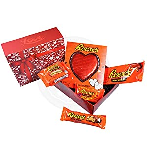 Amazoncom Reese39s Love Gift Box Peanut Butter Hearts