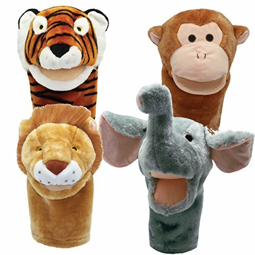 51PvhFWZ1aL - Baby Einstein Puppets Show Fiesta - Puppet Animals for Babies - Compilation