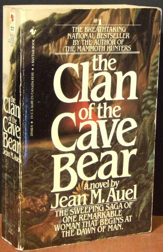 Cover of Clan of the Cave Bear by Jean Auel