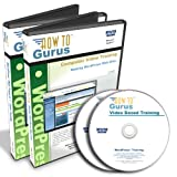 WordPress and WordPress Projects Tutorial Training Course on 2 DVDs, 11 Hours in 135 Video Lessons, Computer Software Video Tutorials