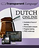 Transparent Language Online - Dutch - Student Edition [6 Month Online Access]