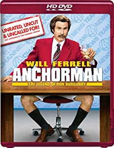 "Cover of ""Anchorman: The Legend of Ron Bu..."