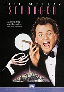 "Cover of ""Scrooged"""