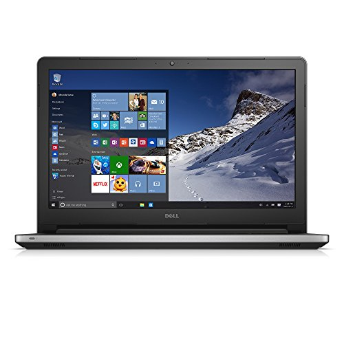 Dell Inspiron 15 5000 Series FHD 15.6 Inch Laptop (Intel Core i7 5550U, 16 GB RAM, 1 TB HDD, Silver) Integrated Intel HD Graphics