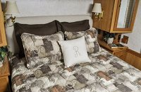 Short Queen RV Bedspread 3 pc set Camper, RV, Travel