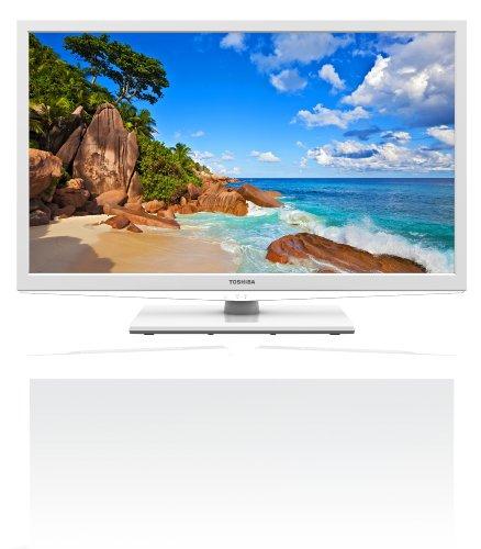 Toshiba 32EL934G 80,1 cm (32 Zoll) LED-Backlight-Fernseher, Energieeffizienzklasse A (HD-Ready, DVB-T/-C, CI+) weiß