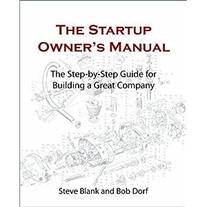 Animação e slides do livro novo de Steve Blank e Bob Dorf