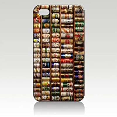 Beer Can Collection cool design iphone 4/4s case at amazon