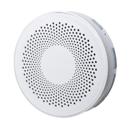 Hanwha Bluetooth 防水 オーディオ スピーカー ホワイト [Bluetooth3.0][IPX4] HS-BWS001-W