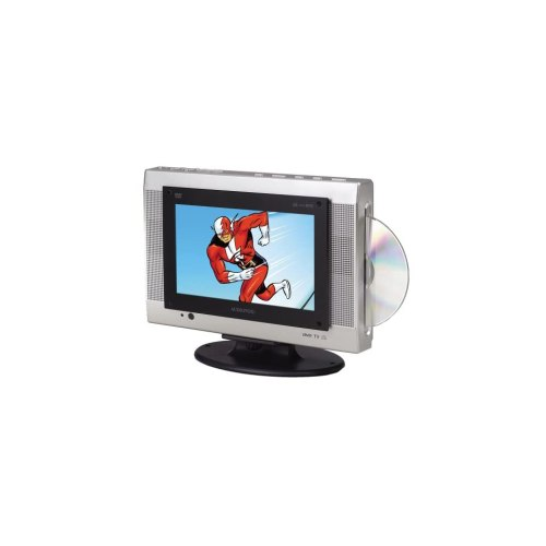 small resolution of audiovox fpe1078 7 8 inch flat panel tv with slot load dvd player electronics
