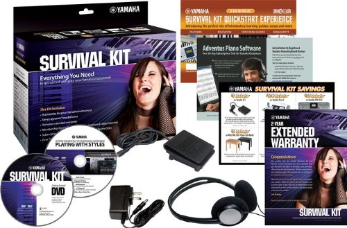 Yamaha SKB2 Survival Kit for Portable Yamaha Keyboards